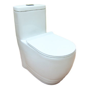 One Piece Toilet Bowl Bacera
