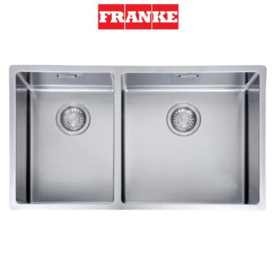 Franke-BOX220-74SBL-Double-Bowl-Sink