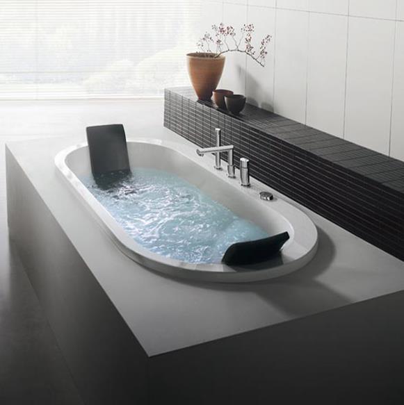 Built-in-bathtub