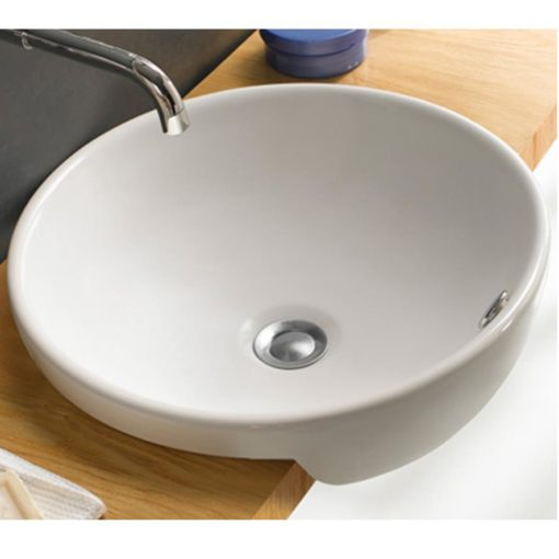 E61R-semi-recess-ceramic-basin