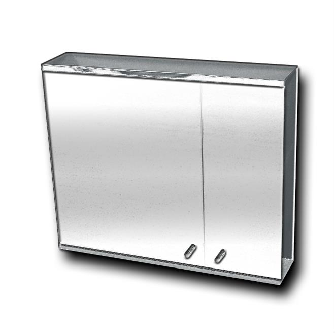 Fmc 800813 Stainless Steel Mirror Cabinet Bacera