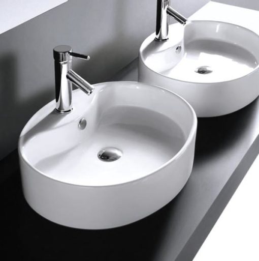 LT overcounter ceramic basin