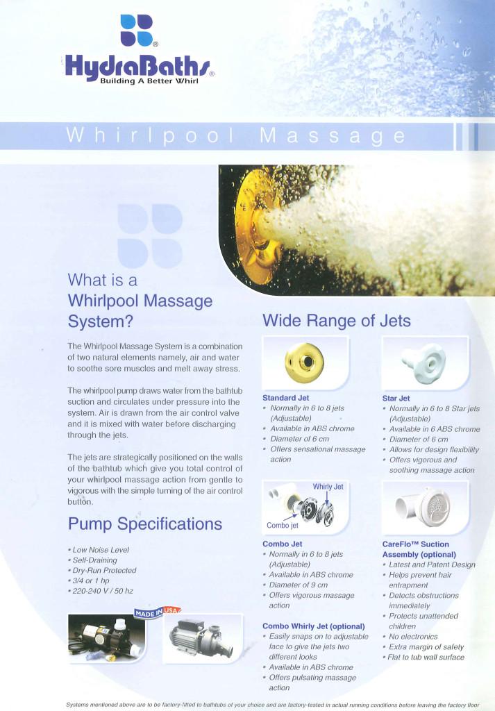 Hydrabath Whirlpool Jets-1