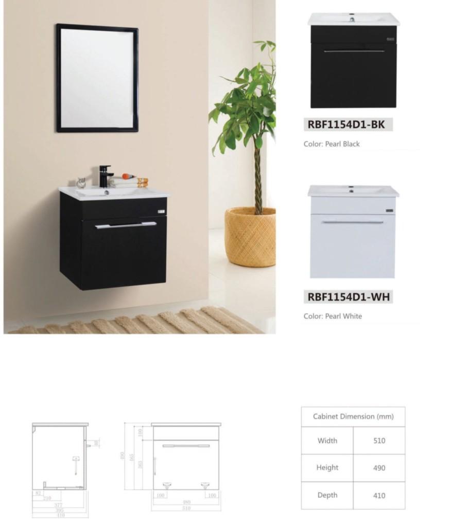 RBFD Stainless Steel Basin Cabinet Brochure