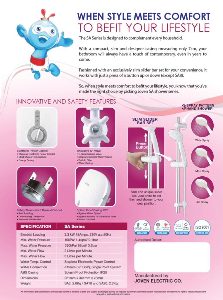 Joven-SA10-Product-Brochure