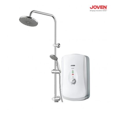 Joven-SL30-Instant-Water-Heater-with-Rain-Shower-White