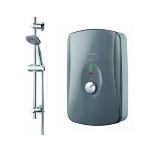 Joven-SL30-Instant-Water-Heater-with-Shower-Set-Black