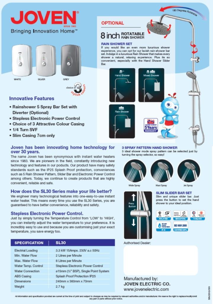 Joven-SL30-Product-Brochure