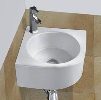 BA Ceramic Corner Basin