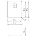 BMR3440-Stainless-Steel-Sink-Specs