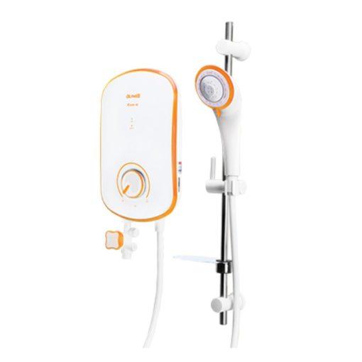 Alpha EVO instant water heater orange
