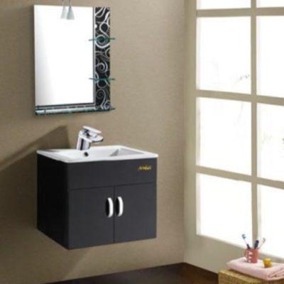 CAB-9050-BK-PVC-Basin-Cabinet-Black