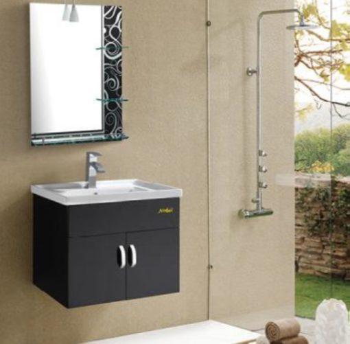 CAB-9060-BK-PVC-Basin-Cabinet-Black