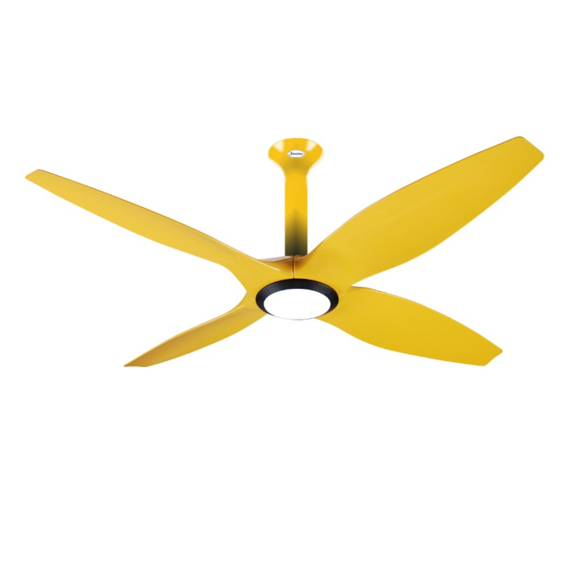 Fanztec FT DCM604 Ceiling Fan Yellow