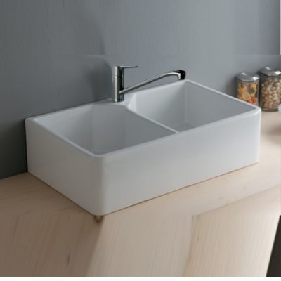 Jacklyn Fireclay Ceramic Kitchen Sink