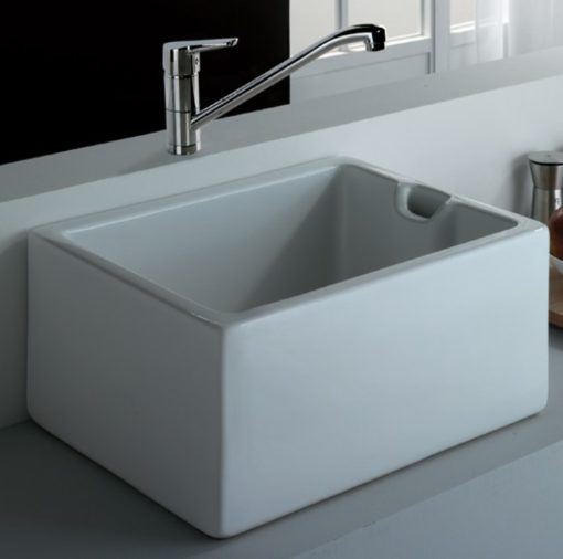 Jennifer Fireclay Ceramic Kitchen Sink