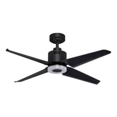 KAZE QUADRO BLACK WITH LED CEILING FAN