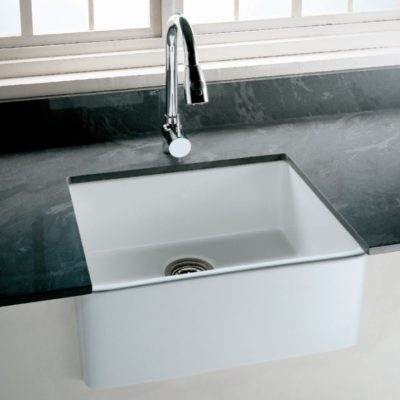 Tulip Fireclay Farmhouse Kitchen Sink