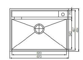 Elkay Ec22105 Stainless Steel Sink Bacera