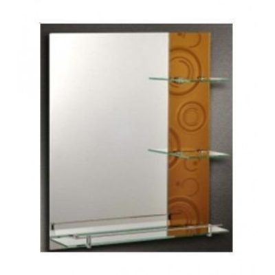MR-170-GD-Bathroom-Mirror-with-Shelves