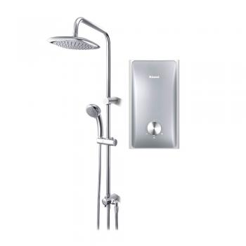 Rinnai-REI-A330NPR-Instant-Water-Heater-With-Rain-Shower-Silver