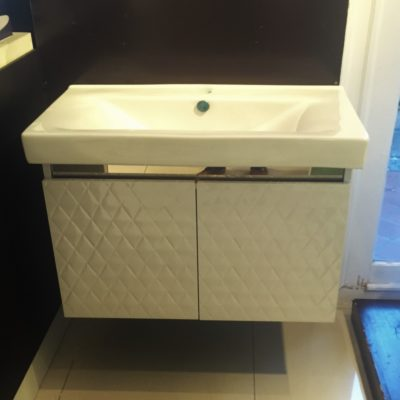 SMC  W  Stainless Steel Basin Cabinet
