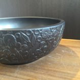 HLG-P31-Ceramic-Basin-with-flower-motif-Side-View