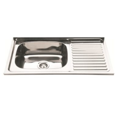 L1000D-lay-on-wall-mounted-sink-with-drainer