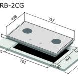rinnai-rb-2cg-glass-cooker-hob-specs