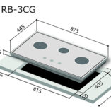 rinnai-rb-3cg-glass-cooker-hob-specs