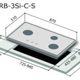 rinnai-rb-3si-stainless-steel-cooker-hob-specs