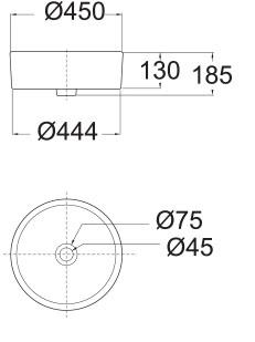 American Standard F Semi Recess Basin Specs
