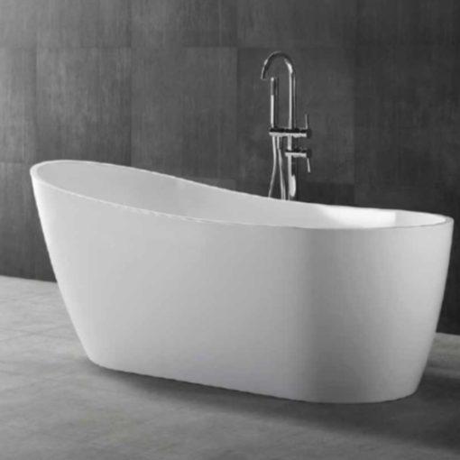 BT128-Free-Standing-Bathtub-Side-View