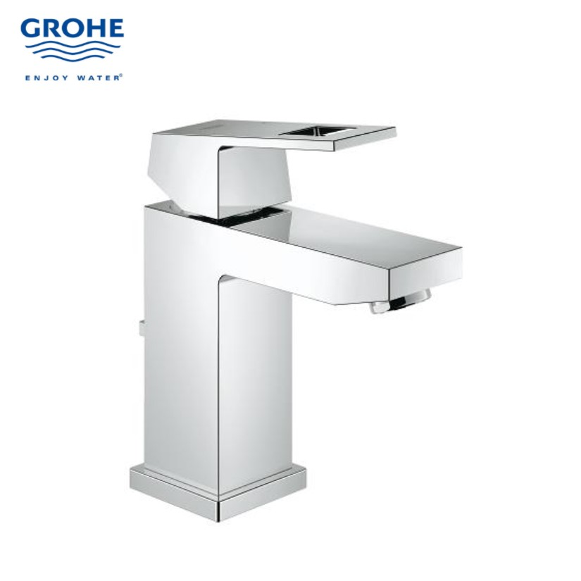 Grohe gh23127000 eurocube basin mixer bacera for Grohe eurocube bathroom faucet