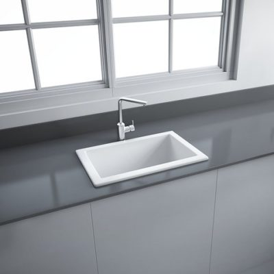 LS Fireclay Ceramic Laboratory Sink