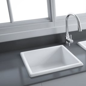 Silvia Fireclay Ceramic Kitchen Sink