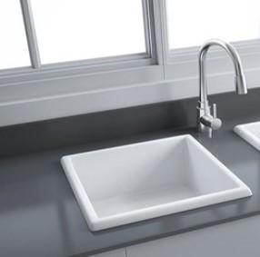 Silvia Fireclay Ceramic Kitchen Sink