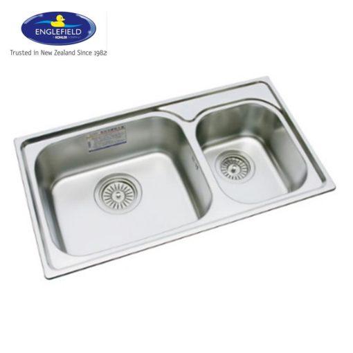 Englefield-JAD2035F-2-Bowl-Kitchen-Sink