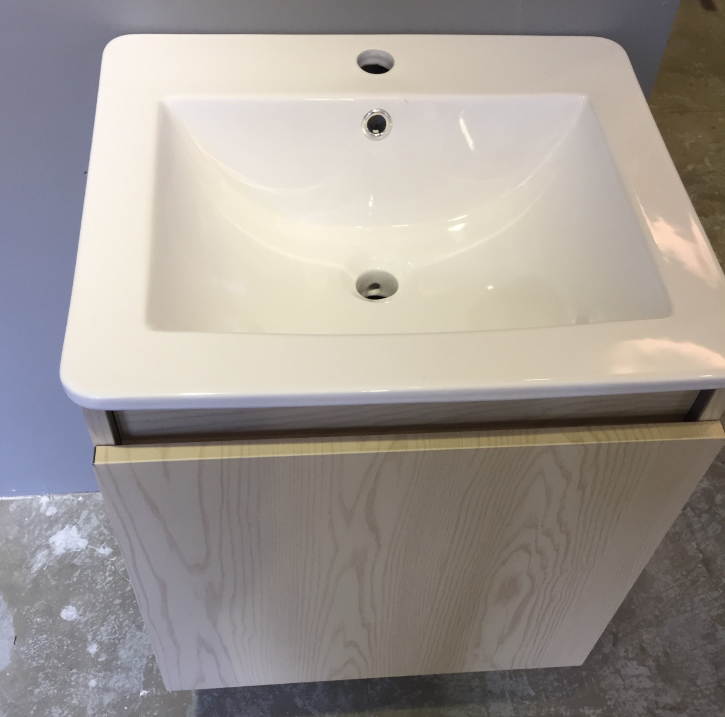 Smc1708 Hd21 Stainless Steel Basin Cabinet Top View Bacera