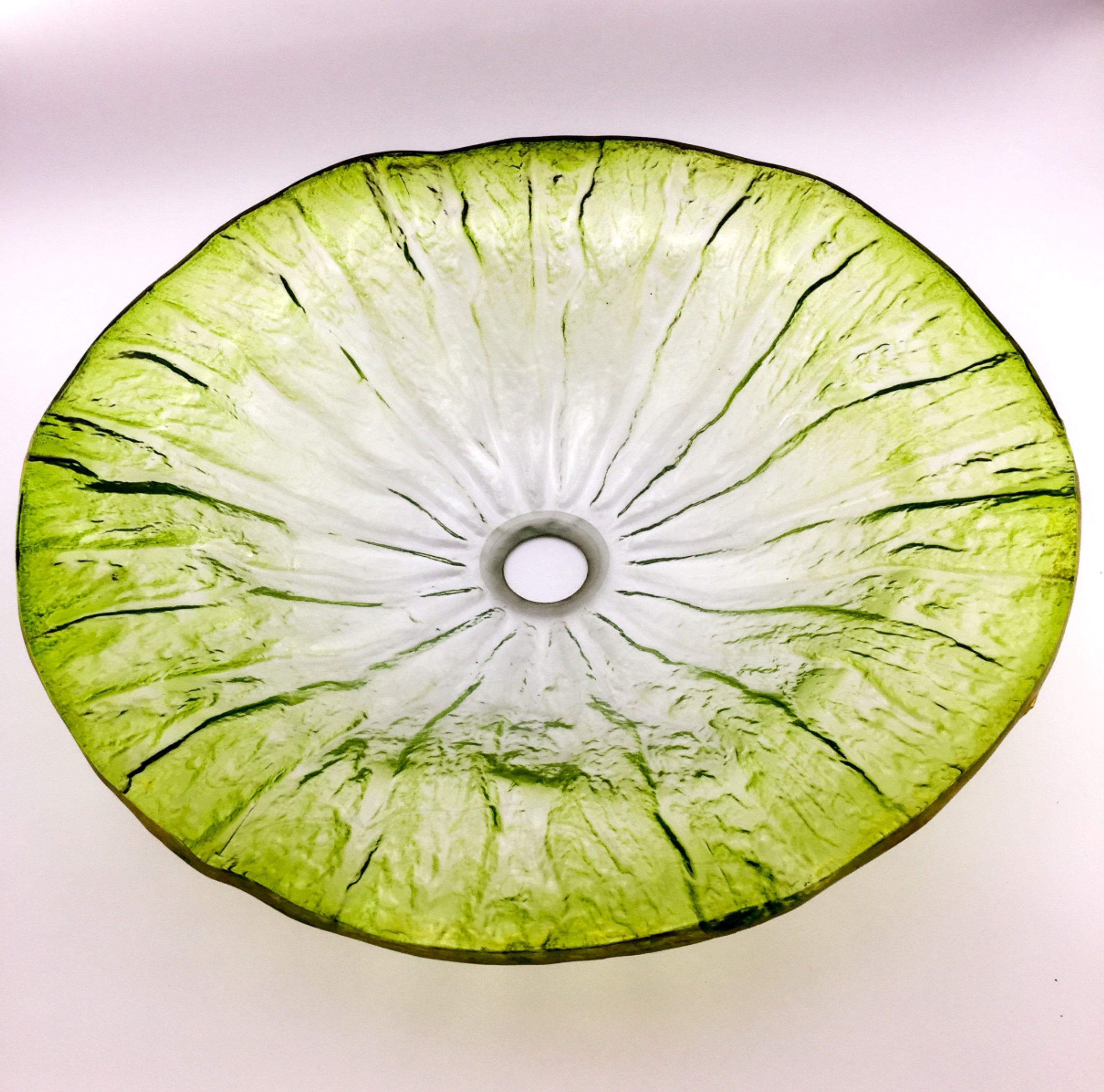 AB-BWY1625-Floral-Green-Glass-Basin