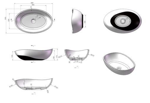 A101-Counter-Top-Basin-Specs