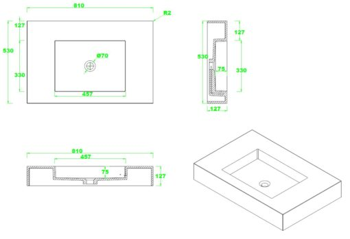 A17-Counter-Top-Basin-Specs