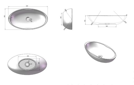 A Counter Top Basin Specs