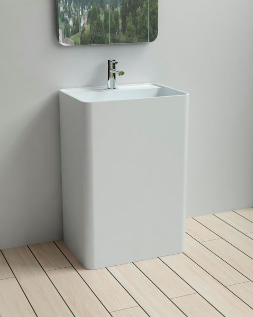 PW Freestanding Basin Front View