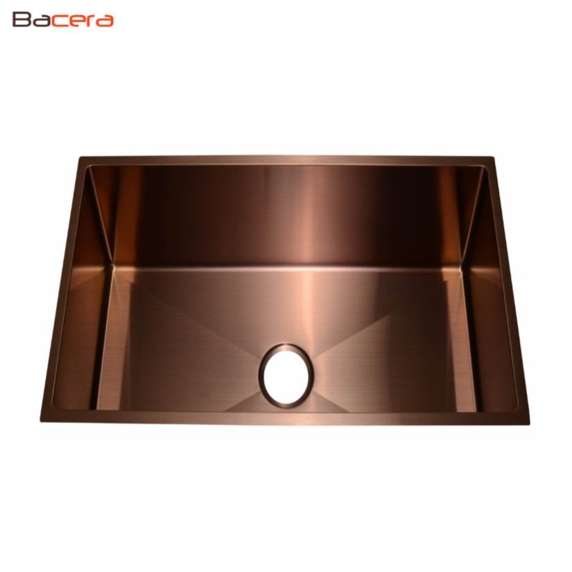 Sb1404 Copper Finish Stainless Steel Sink Bacera