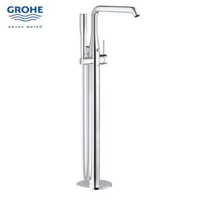 GH23491001-Grohe-essence-floor-mounted-single-lever-bath-mixer