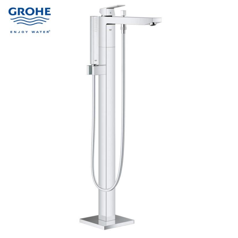 GH23672000-Grohe-eurocube-single-lever-bath-mixer-floor-mounted