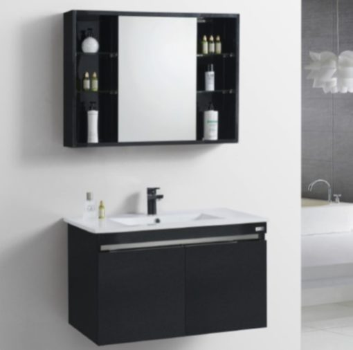 RBF13842D2-BK-Stainless-Steel-Basin-Cabinet