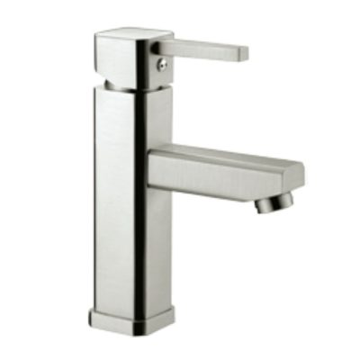Rhine-NB303ST-Stainless-Steel-Finish-Basin-Mixer