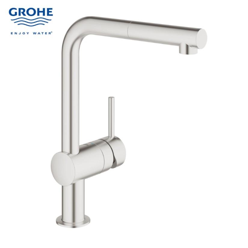 Grohe 30274dc0 Minta Sink Mixer Bacera
